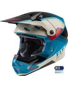 Fly Racing 2022 Formula CP Rush Helmet Black/Stone/Dark Teal