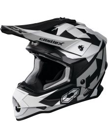 Castle X CX Mode MX Helmet Flow White