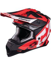 Castle X CX Mode MX Helmet Flow Red