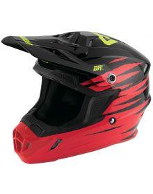 Answer 2020 AR1 Pro Glow Youth Helmet Red/Black/Hyper Acid