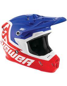Answer 2020 AR1 Voyd Youth Helmet Red/Reflex/White