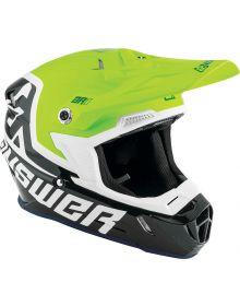 Answer 2020 AR1 Voyd Youth Helmet Midnight/Hyper Acid/White