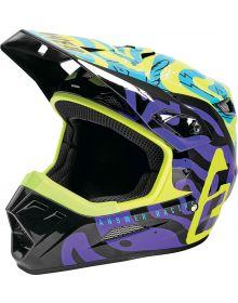 Answer 2021 AR1 Hypno Youth Helmet Hyper Acid/Astana/Dark Purple