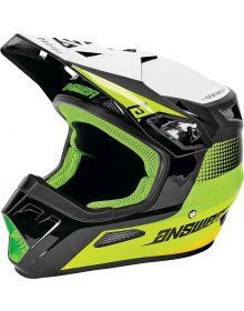 Answer 2021 AR1 Swish Youth Helmet Green/Hyper Acid/White