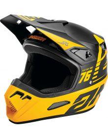 Answer 2021 AR1 Bold Youth Helmet Black/Bus