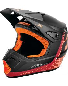 Answer 2021 AR1 Charge Youth Helmet Berry/Flo Red/Black