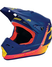 Answer 2021 AR1 Charge Youth Helmet Air Pink/Pro Yellow/Midnight