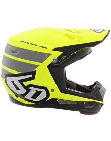 6D 2020 ATR-2 Youth Helmet Stripe Yellow
