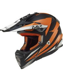 LS2 Helmets Fast Youth Helmet Race Orange