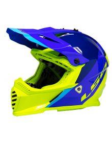 LS2 Gate Launch Youth Helmet Hi Vis