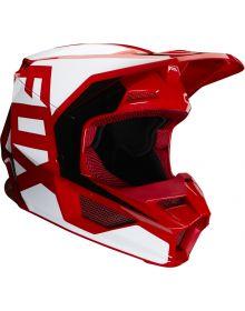 Fox Racing 2020 V1 Prix Youth Helmet Flame Red