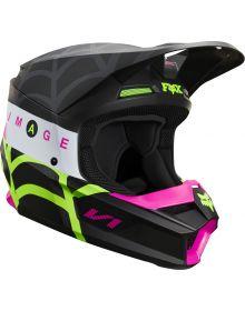 Fox Racing 2020 V1 Youth Venin Helmet Black