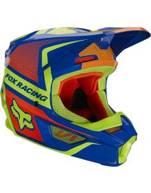 Fox Racing 2021 V1 Oktiv Youth Helmet Blue