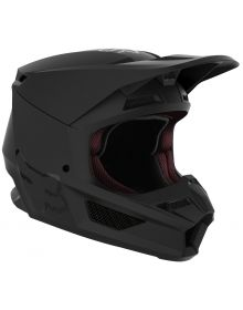 Fox Racing 2021 V1 Youth Helmet Matte Black