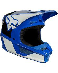 Fox Racing V1 Revn Youth Helmet Blue