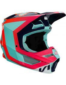 Fox Racing V1 Voke Youth Helmet Aqua