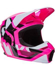 Fox Racing V1 Lux Youth Helmet Pink