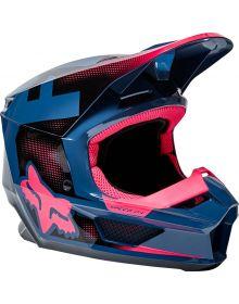 Fox Racing V1 Dier Youth Helmet Dark Indigo