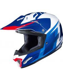 HJC CL-XY II Argos Youth Helmet Red/White/Blue