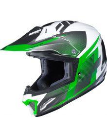 HJC CL-XY II Argos Youth Helmet Lime Green/White