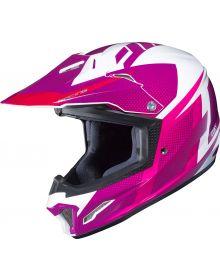 HJC CL-XY II Argos Youth Helmet Pink/White
