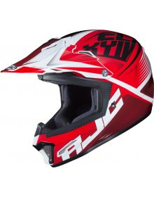 HJC CL-XY II Ellusion Youth Helmet Red/White