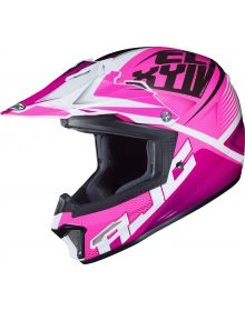 HJC CL-XY II Ellusion Youth Helmet Pink/White