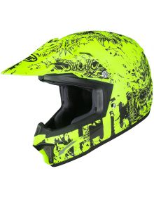 HJC CL-XY2 Youth Helmet Creeper Hi-Viz