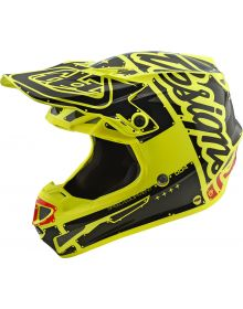 Troy Lee Designs SE4 Factory Youth Helmet Yellow