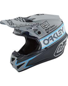 Troy Lee Designs SE4 Polyacrylite Youth Helmet Team 2 Gray