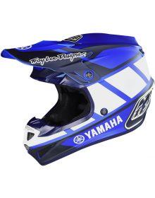 Troy Lee Designs SE4 Polyacrylite Youth Helmet Yamaha RS1