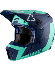 Leatt GPX 3.5 V20.2 Junior Helmet Aqua