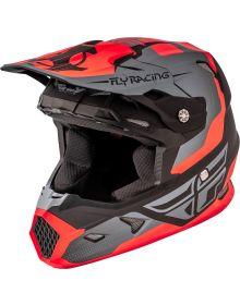 Fly Racing 2018 Toxin Original Youth Helmet Orange/Black/Grey