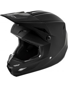Fly Racing 2019 Ellite Youth Helmet Matte Black