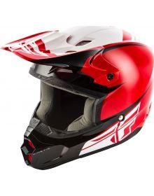 Fly Racing 2019 Kinetic Sharp Youth Helmet Red/Black