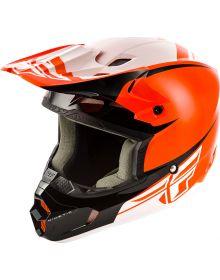 Fly Racing 2019 Kinetic Sharp Youth Helmet Orange/Black