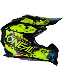 O'Neal 2020 2Series Youth Helmet Villain Neon Yellow
