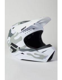 Shift MX White Label Camo Youth Helmet White Camo