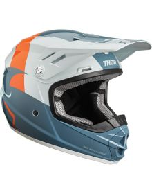 Thor Sector Shear Youth Helmet Slate/Sky