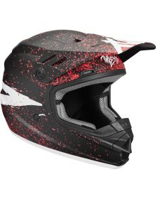 Thor Sector Hype Youth Helmet Black/Coral