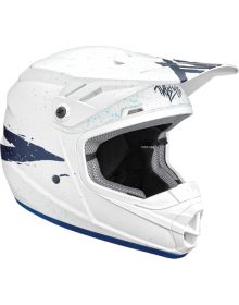 Thor Sector Hype Youth Helmet White/Blue