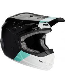 Thor 2020 Sector Bomber Youth Helmet Black/Mint