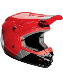 Thor 2020 Sector Bomber Youth Helmet Red/Charcoal