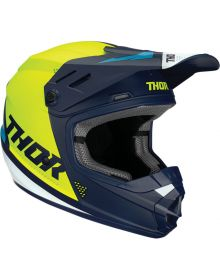 Thor 2020 Sector Blade Youth Helmet Navy/Acid