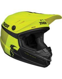 Thor 2021 Sector Racer Youth Helmet Acid/Lime