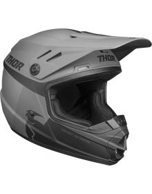 Thor 2021 Sector Racer Youth Helmet Black/Charcoal