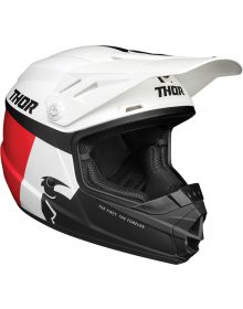 Thor 2021 Sector Racer Youth Helmet White/Red/Blue