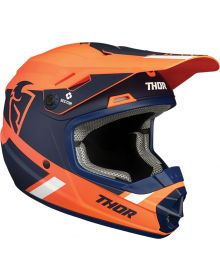 Thor 2021 Sector Split MIPS Youth Helmet Orange/Navy