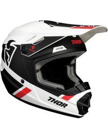 Thor 2021 Sector Split Youth Helmet White/Black