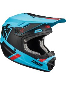 Thor 2022 Sector Split MIPS Youth Helmet Blue/Black
